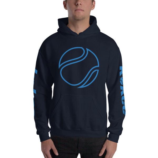 The K Tennis Unisex Hoodie Blue