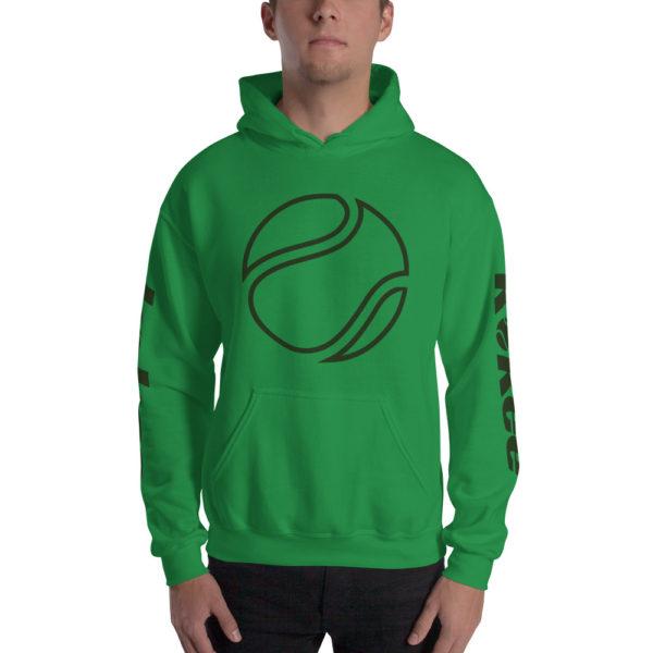 The K Tennis Unisex Hoodie Green